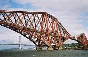 Forth bridge by Jenni Sophia Fuchs